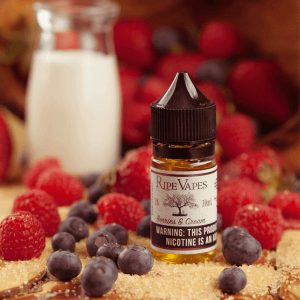 Handcrafted Saltz Berries and Cream - Ripe Vapes