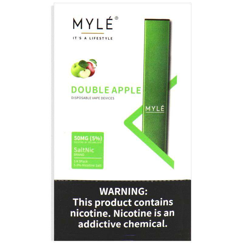 MYLE DISPOSABLE – DOUBLE APPLE
