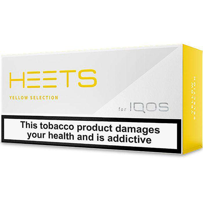 IQOS HEETS Yellow Selection / Label