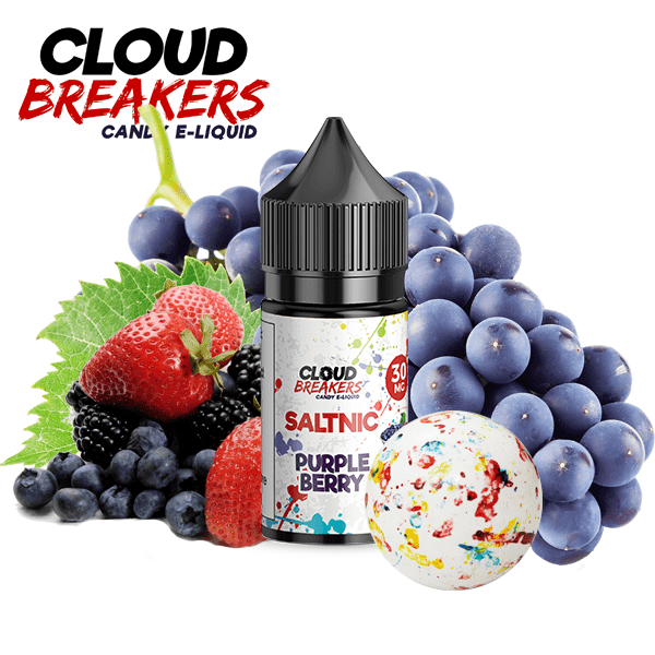PURPLE BERRY SaltNic - Cloud Breakers Candy