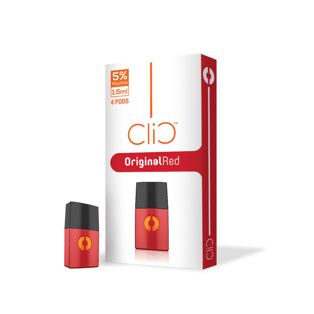 Clic Original Red Pods