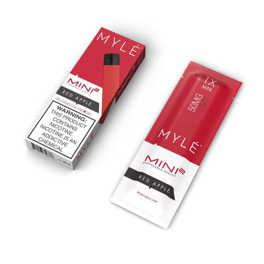 MYLÉ Mini 2 – Red Apple Disposable Device