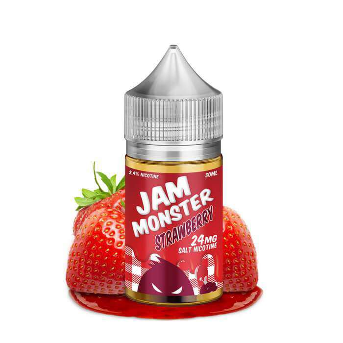 Strawberry Nicotine Salt nic - Jam Monster Salts