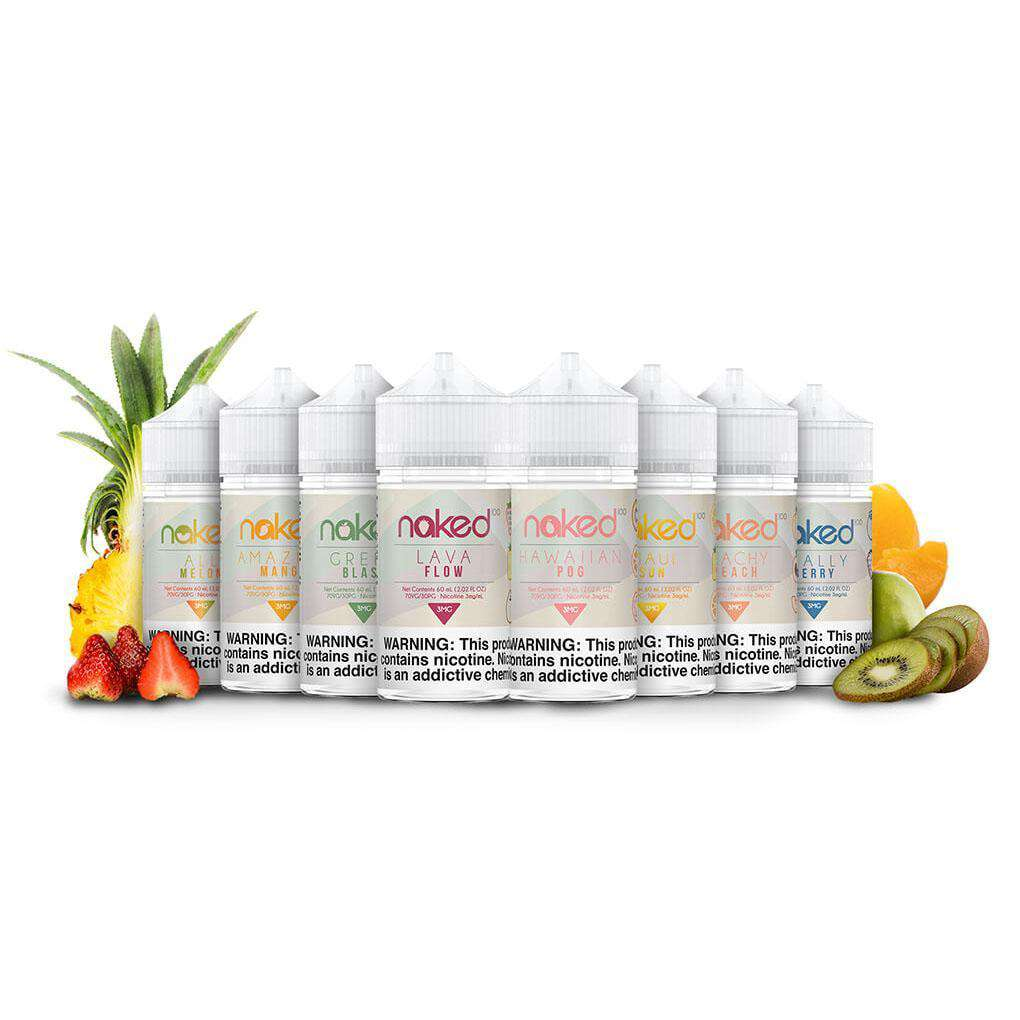 Naked 100 Eliquids (60ML)