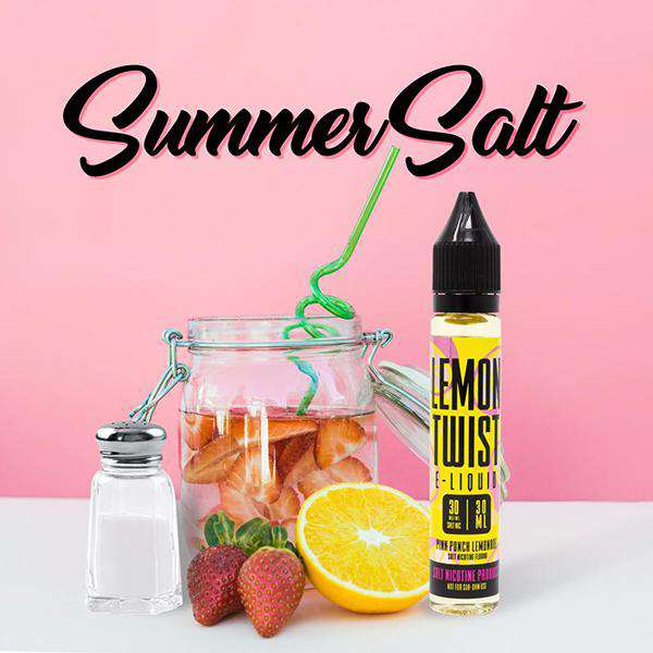 Lemon Twist - Pink Punch Lemonade - Gulf Vapors