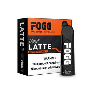 Fogg Pod device - Secret Sauce Latte
