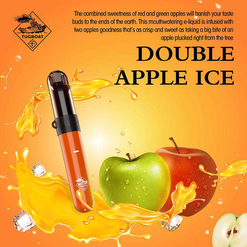 Double Apple Ice - Tugboat v3(CASL) 3pcs/pack