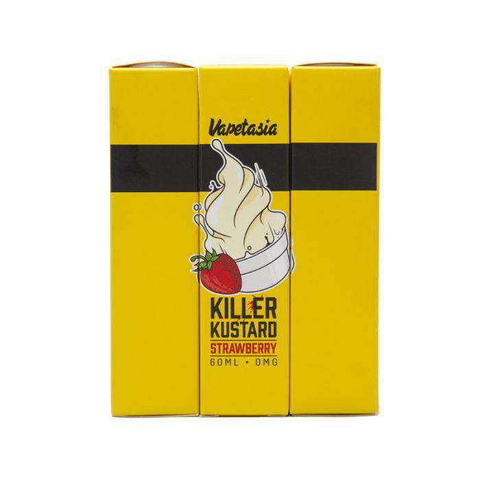 Killer Kustard Strawberry [New 2018 Look] - Vapetasia - Gulf Vapors