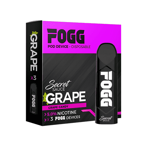 Fogg Pod device - Secret Sauce Grape - Gulf Vapors
