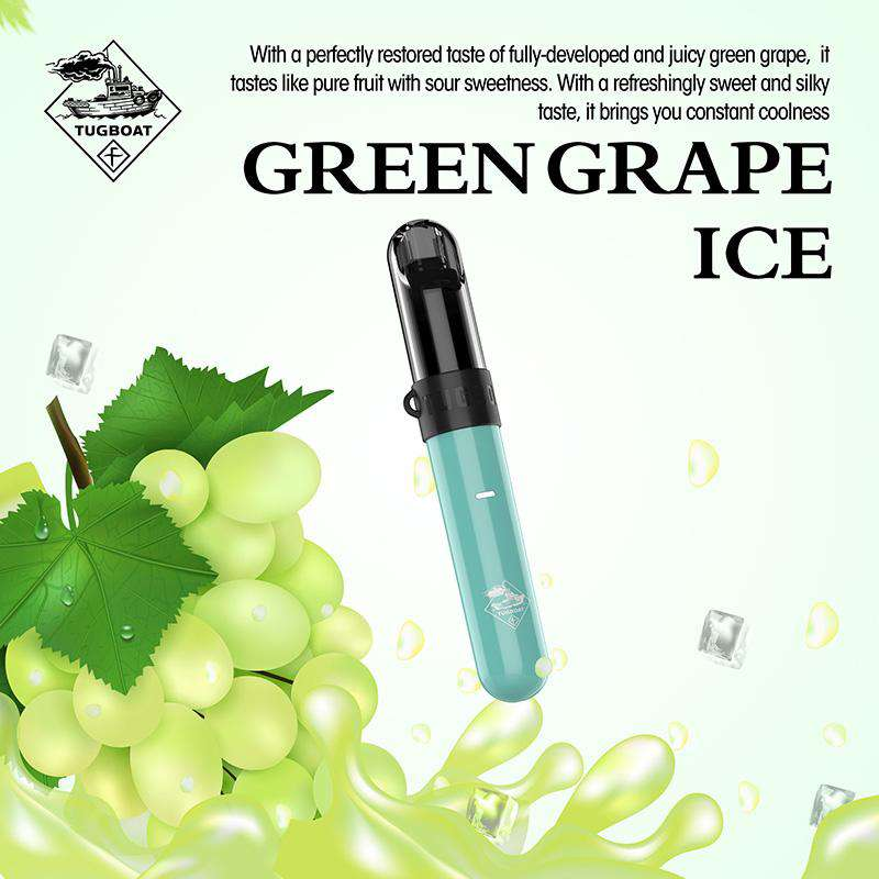 Tugboat CASL Green Grape Ice