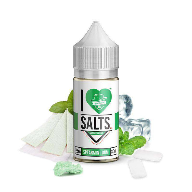 I LOVE SALTS SPEARMINT GUM ELIQUID - Gulf Vapors