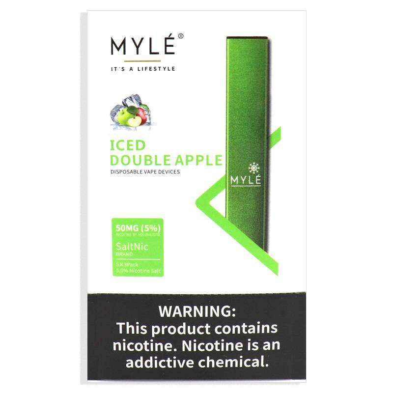 MYLE DISPOSABLE – ICED DOUBLE APPLE