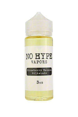 No Hype Vapors - Strawberry Banana Milkshake - Gulf Vapors