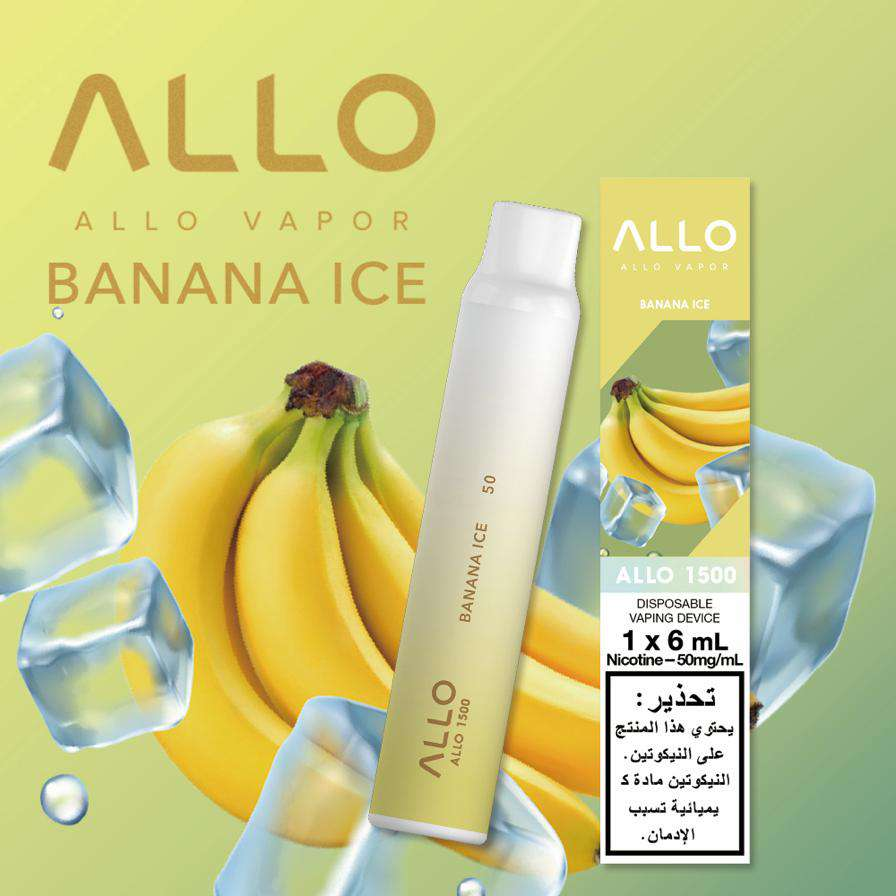 Allo 1500 - Banana Ice