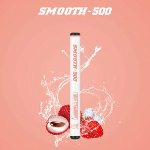 SMOOTH500 Litchi Strawberry Lush ice (3 Pcs Pack)