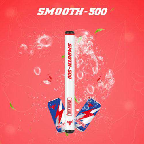 SMOOTH500 Energy Bull Disposable Vape (3 Pcs Pack)