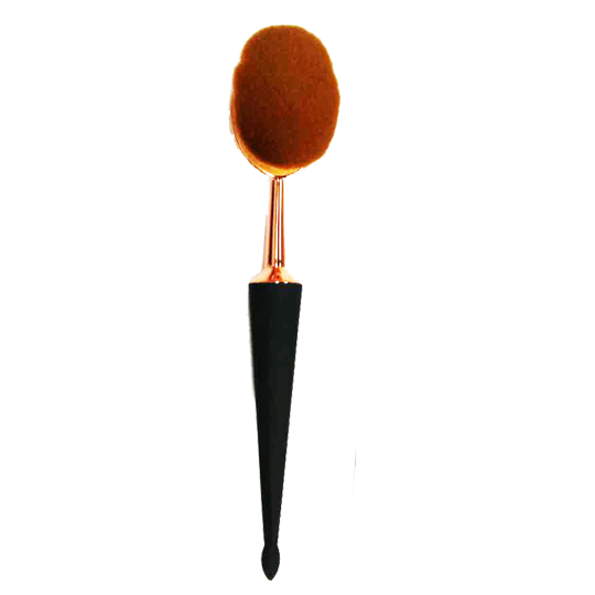 One Pcs Black Holder Oval Premium Brush