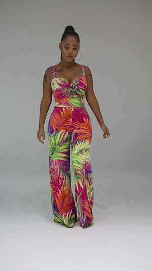 Spring Time Is Here Jumpsuit