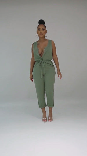 Spring Time Jumpsuit