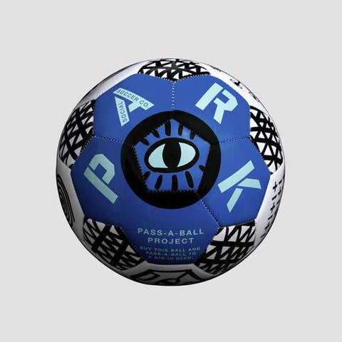 Park Social Soccer ball, ultra blue