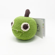 Organic Cotton Rattle – Apple