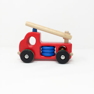 Large Wooden Fire Engine