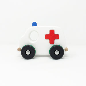 Large Wooden Ambulance