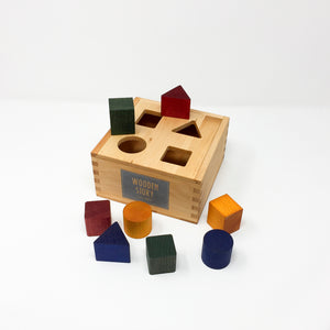 Rainbow Shape Sorting Box
