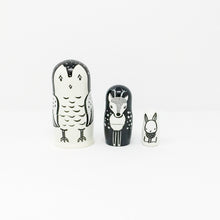 Set of 3 Nesting Dolls – Woodland Creatures