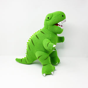 Terry the Knitted T-Rex – Large