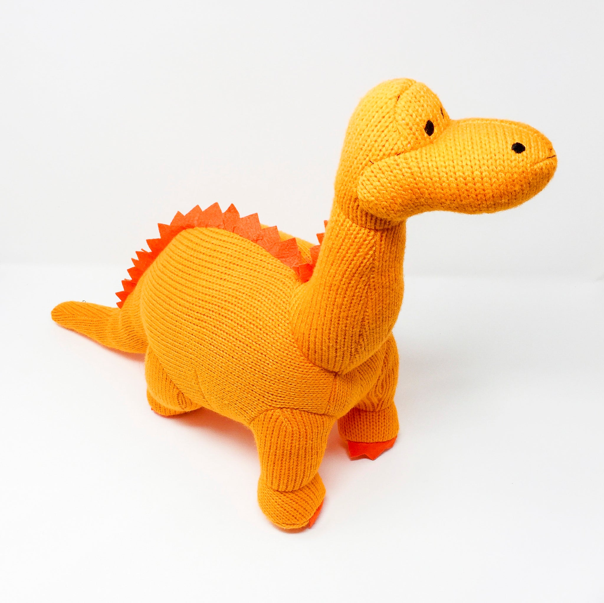 Dippy the Knitted Dinosaur – Large – ToyDrop