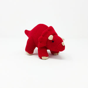 Tommy the Triceratops Rattle