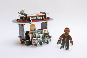 Record Store Playset