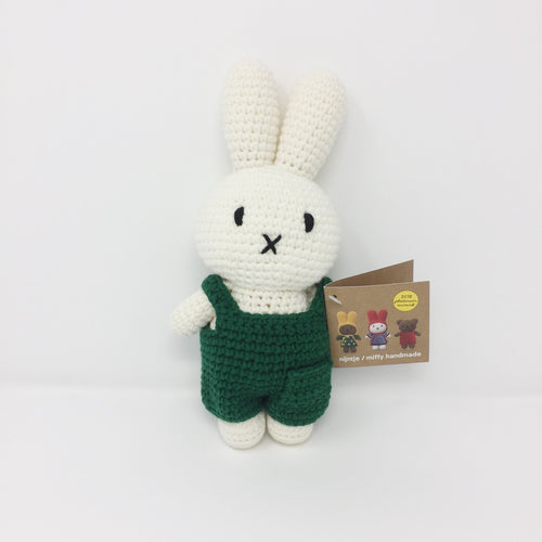 Miffy with Green Overalls