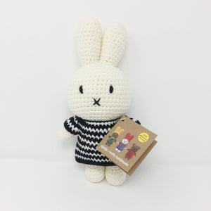 Miffy with Black Striped Dress