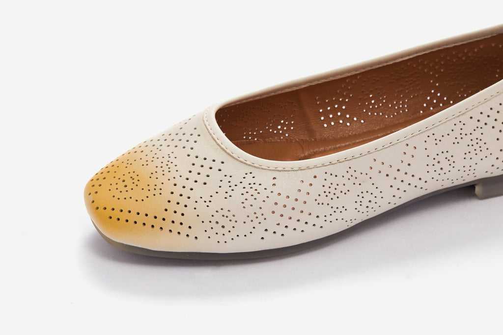 Lucca Vudor Comfort Shoes Singapore Fairyn Beige Flats