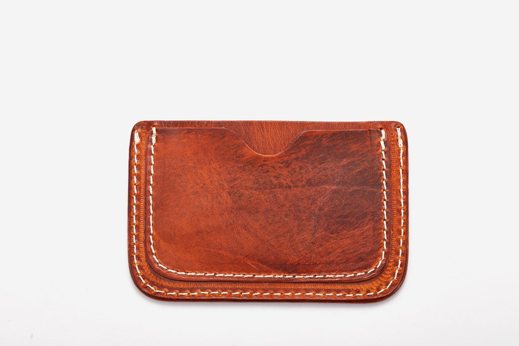 Ava Namecard Holder Lucca Vudor Leather Accessories