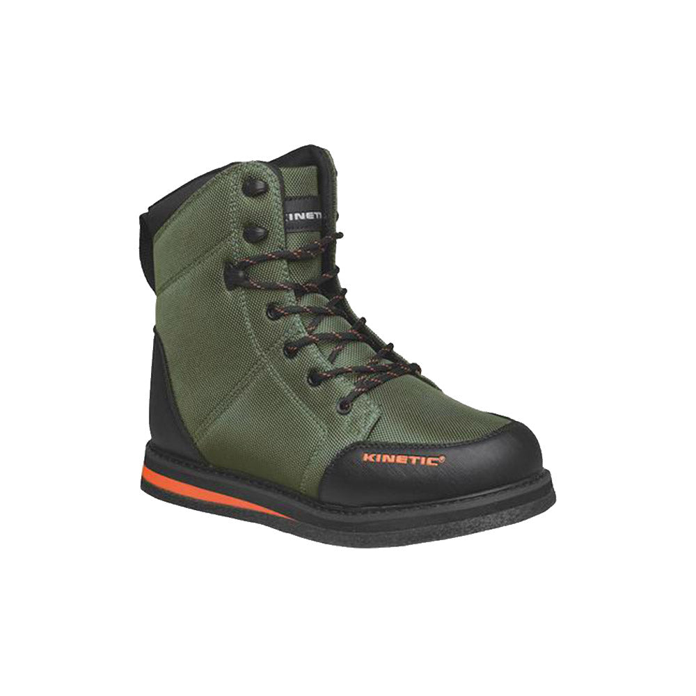 Kinetic RockGaiter Wading Boot - Olive Green