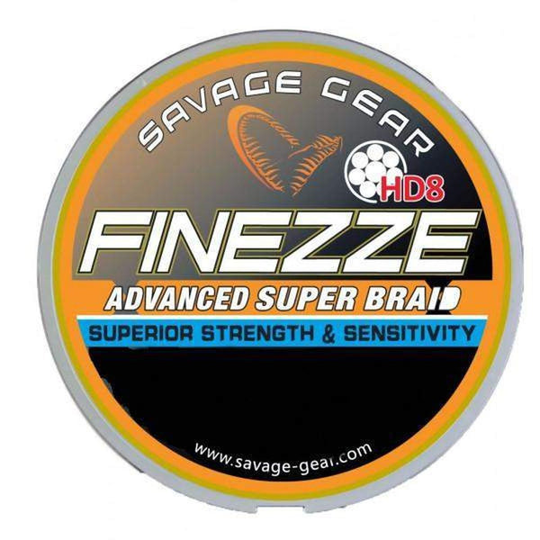 Savage Gear HD8 Finezze Braid 0.19 mm 120m 13,7kg