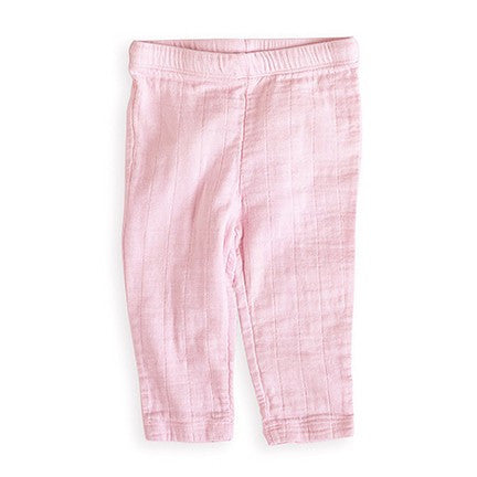 Lovely Solid Pink Muslin Pant by Aden and Anais