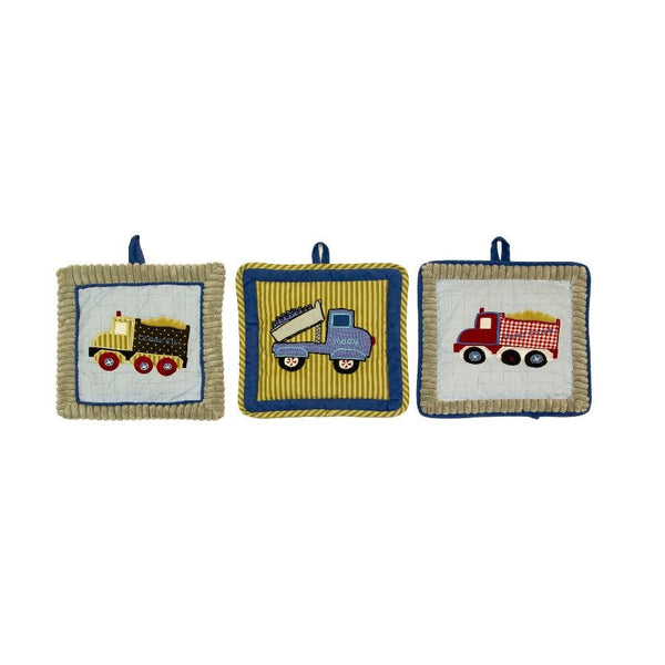 Amani Bebe Under Construction 3pc Wall Hanging
