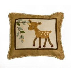 Lambs N Ivy Enchanted Forest Decorative Pillow