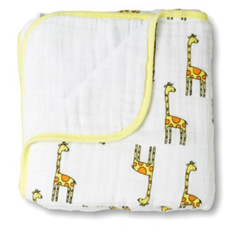 Jungle Jam Giraffe Dream Blanket by Aden and Anais