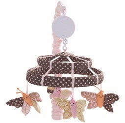 Lambs N Ivy Butterfly Dreams Musical Mobile