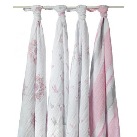 For The Birds Swaddle 4 Pack by Aden and Anais