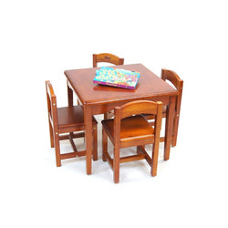 Babyhood Playing Table With 4 Chairs