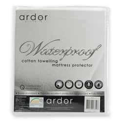 Towelling Mattress Protector - Waterproof