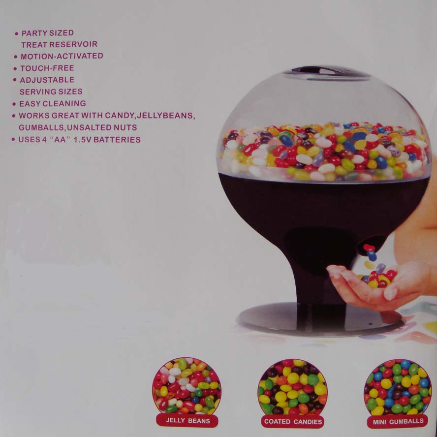 motion sensor candy dispenser here is my wallet