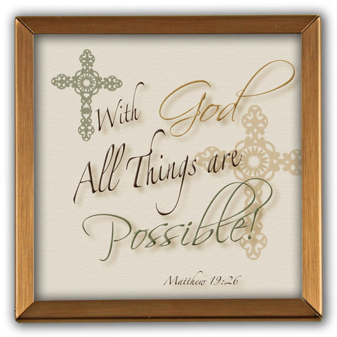 Copper Expressions: With God all things are possible