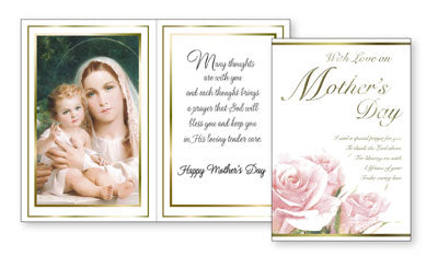 Mother's Day Parchment Card with insert